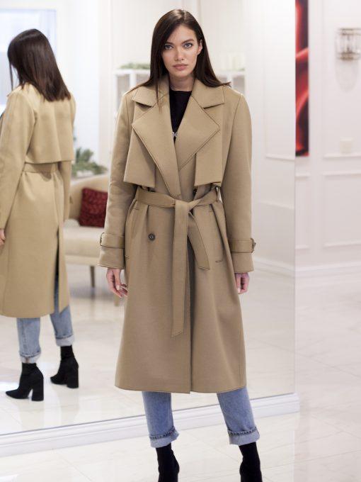 женское пальто на осень